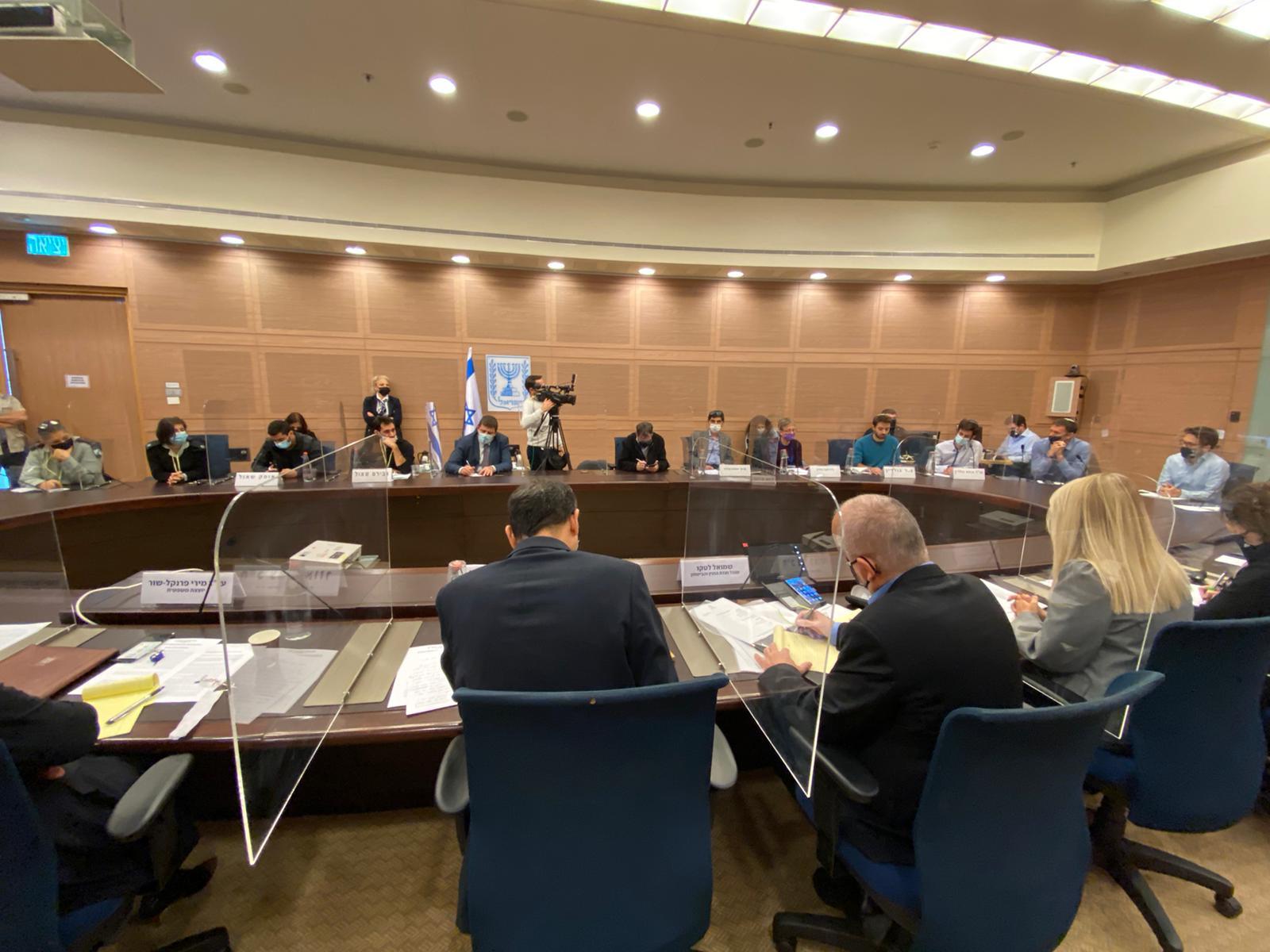 ועדת הכספים בדיון עניין תקציב בתי החולים הציבוריים שעודנו מתקיים