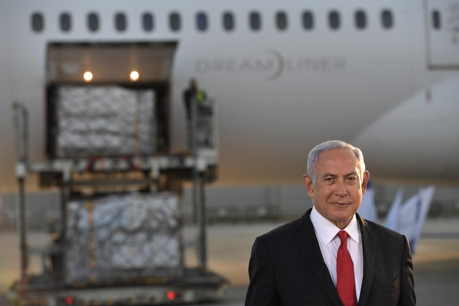 """מבצע """"חוזרים לחיים"""" משלוח חיסונים פייזר הגיע לישראל"""