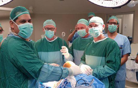 """בית החולים אסף הרופא החל לבצע ניתוחי ברך עם משתל """"מניסקוס מלאכותי"""""""