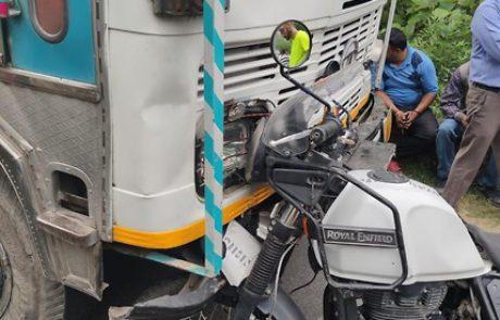 """במהלך טיול בהודו: חובשת מד""""א הצילה את חייו של אוסטרלי שנפצע קשה בתאונה"""