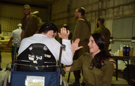 הישראלי הטוב – במקום לחגוג עם המשפחה, חוגג יחד עם אנשים עם מוגבלויות