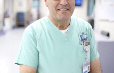 """פורטל משרד הבריאות: ליבו של מנהל מערך הלב, ד""""ר ג'אנם- נדם"""