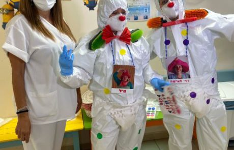 לראשונה ליצנים רפואיים בתוך מח' קורונה