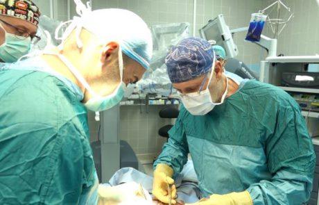לראשונה בבילינסון נעשה ניתוח השתלת כליה באמצעות רובוט