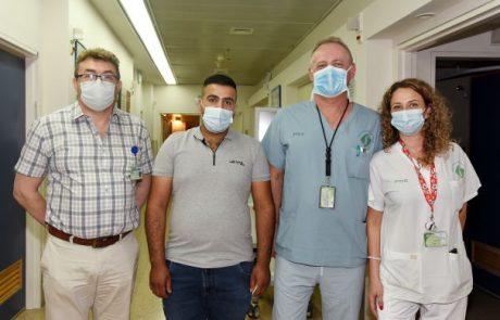 סורוקה:פעולה ניתוחית ראשונה מסוגה של פתיחת כלי דם ורידיים בבטן