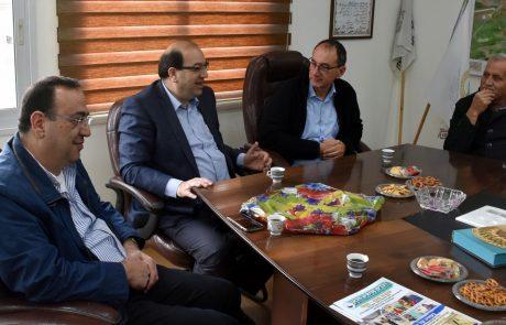 """מתהדק שיתוף הפעולה בין ביה""""ח פוריה ומועצה מקומית עלבון שבצפון"""