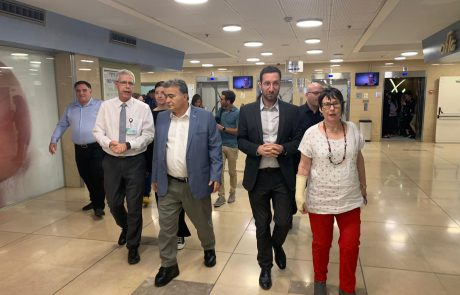 """עמיר פרץ בביה""""ח מאיר בכפ""""ס: ״לא יתכן שהמבחן של מנהלי בתי החולים יהיה מידת הכושר לגיוס תרומות"""