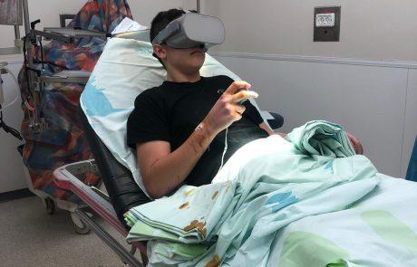 """מציאות מדומה במלר""""ד ילדים בבית החולים אסף הרופא"""
