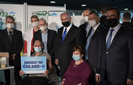 חיסוני קורונה: תכירו את המתחסן ה-500,000