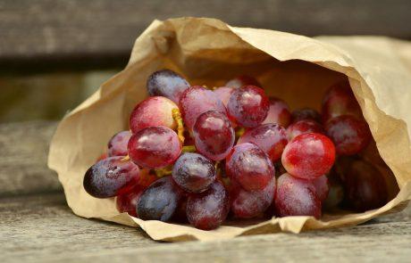 ענבים – ערך תזונתי